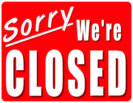 3/23/2020 CLOSED UNTIL FURTHER NOTICE