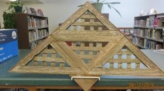 #21 A-Cute Triangle by Kathy Scheier.