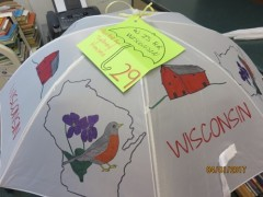 #29 W is for Wisconsin painted by Sydney Hansen