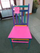 #32 Rainbow Chair by Jes Walker